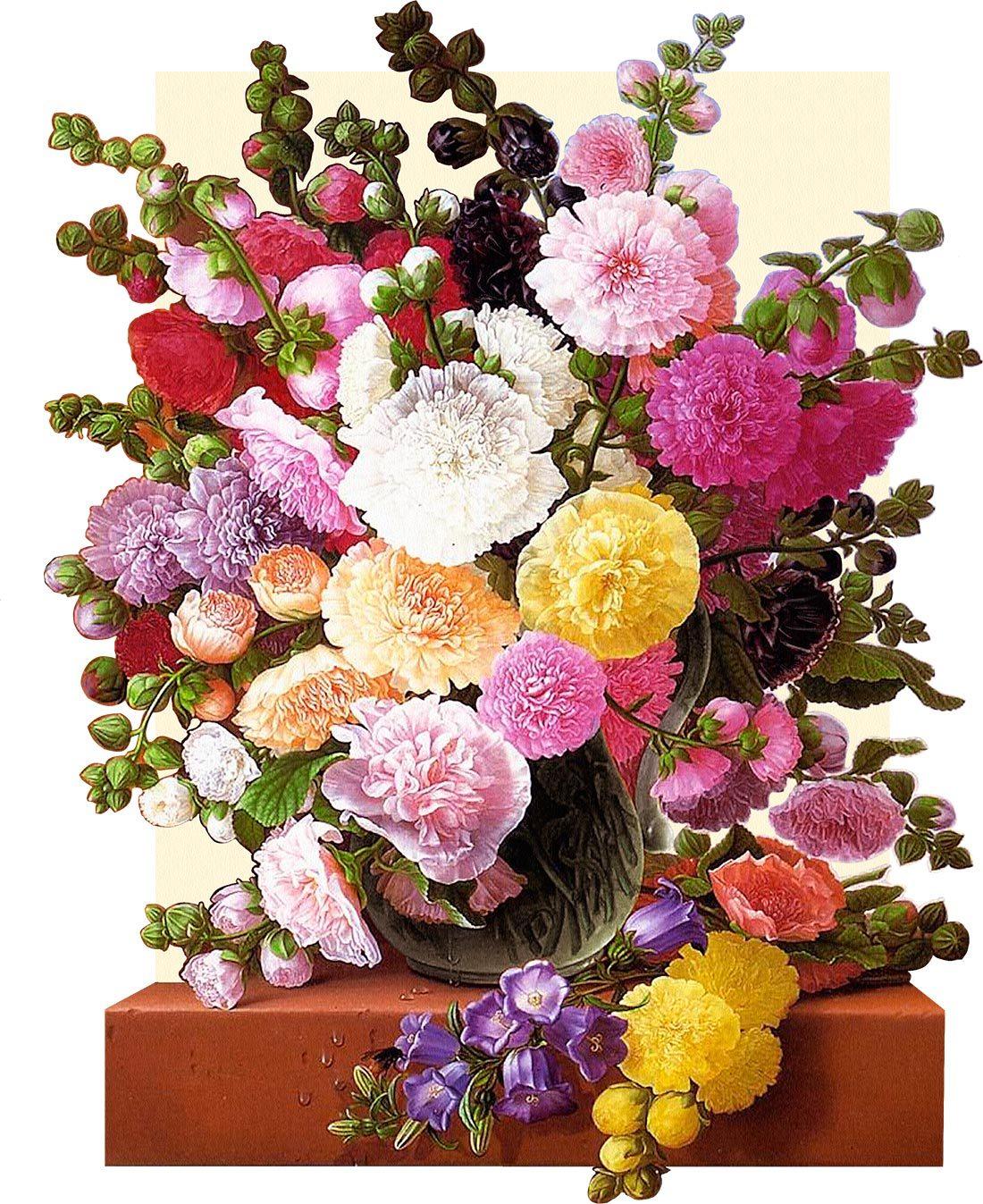 Папертоль Цветы у окна — главное фото сюжета.