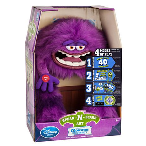 Monsters University - Art Speak-N-Scare Talking Action Figure