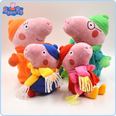 Peppa Pig Family Plush Winter