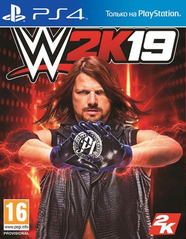 PS4 WWE 2K19 (английская версия)