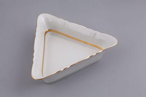Салатник треугольный 21 см Соната Leander
