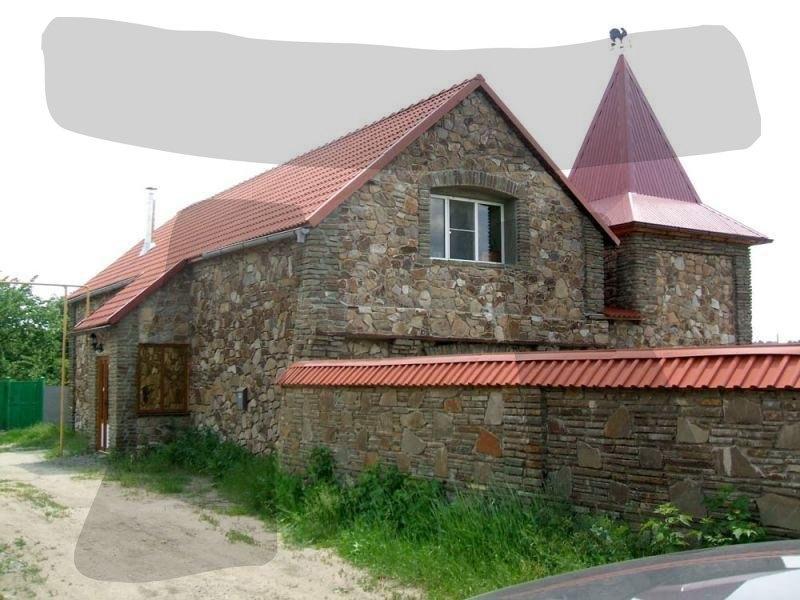 Бутовый камень кладочный Блочок Кантри облицовка дома