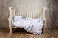 Детское постельное белье German Grass Kinder белое