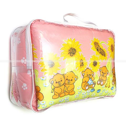 Комплект для детской кроватки 7 предметов(бязь) М12-ОФС122