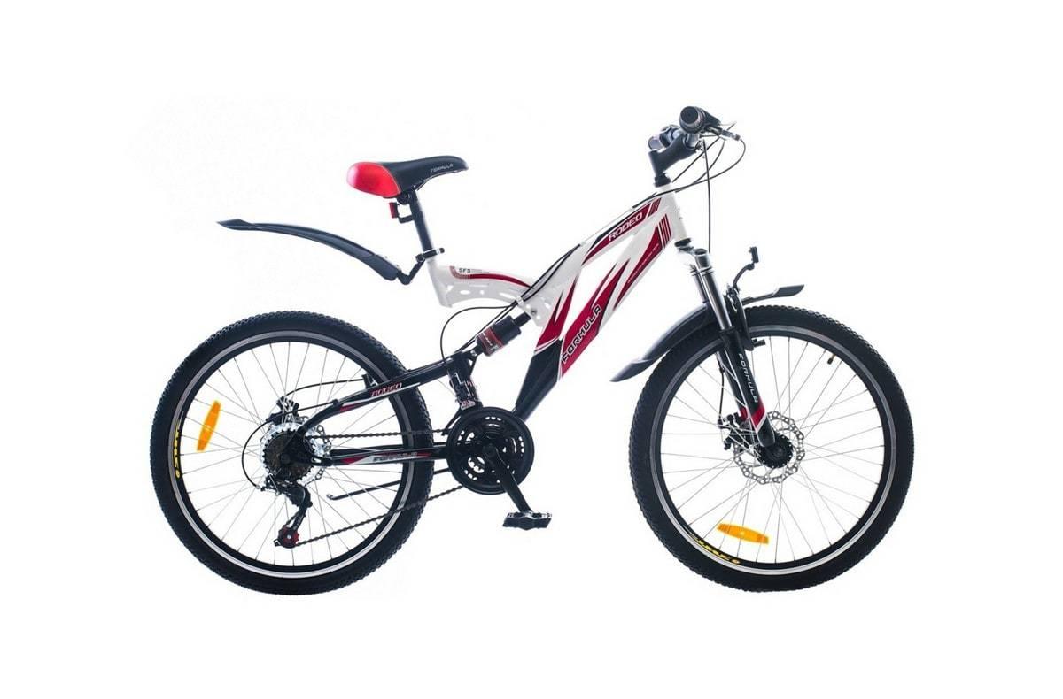 Горный универсальный велосипед Formula Rodeo DD 2015 красно-белый
