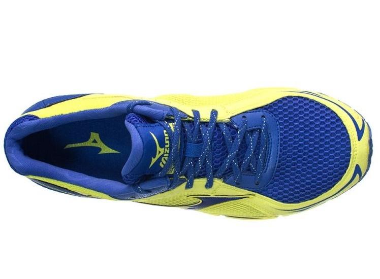 Мужские кроссовки для бега Mizuno Wave Aero 13 (J1GC1457 27) желтые фото