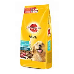Pedigree полноценный корм для собак всех пород c говядиной