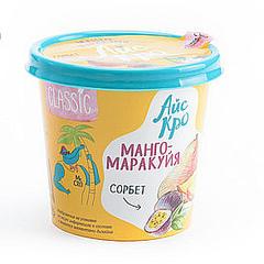 Десерт взбитый замороженный фруктовый «Сорбет манго-маракуйя», 75 г