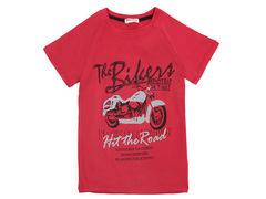 702-25 футболка детская, красная