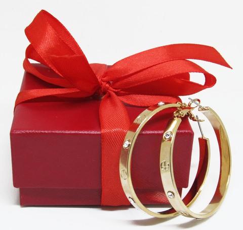 Серьги Cartier Love Gold
