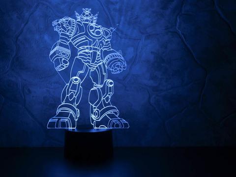 3D светильник Трансформер