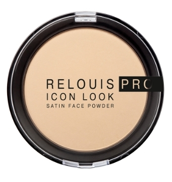 Пудра компактная PRO Icon Look Satin Face Powder (Relouis)