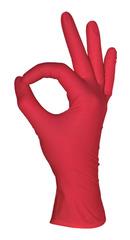 Перчатки нитриловые MediOK Красные 50пар (100шт...