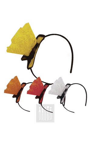 Фото Ободок со шляпкой рисунок Пышные юбки в стиле ретро состоят из трех слоев пышной сетки с люрексом, на выбор четыре варианта цвета — белый, желтый, оранжевый и красный.