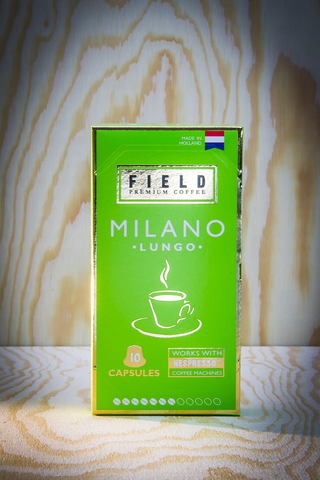 FIELD PREMIUM COFFEE Lungo Milano. Интернет магазин чая