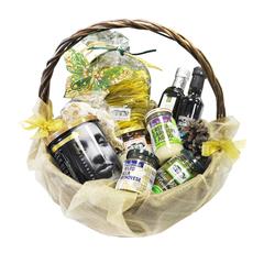Подарочная корзина Casa Rinaldi с набором продуктов DI ORO средняя