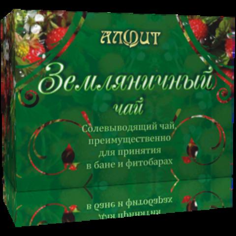 Чай для бани ЗЕМЛЯНИЧНЫЙ ЧАЙ, смесь сухого растительного сырья для приготовления горячего напитка, 25ф/п*2г