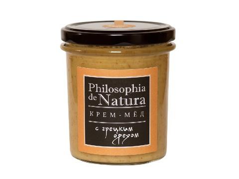 Крем-Мед с грецким орехом, 180 мл