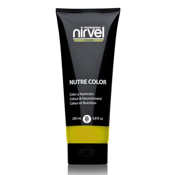 Гель-маска питательная Желтая Nirvel Nutre Color Yellow 200мл