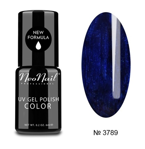 NeoNail Гель лак UV 6ml Deep Navy №3789-1