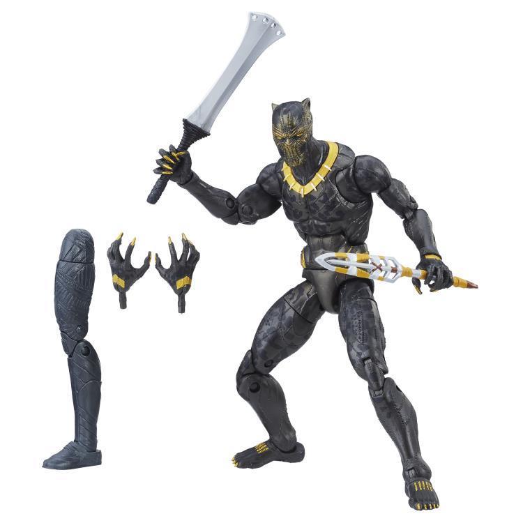 Фигурка Эрик Киллмонгер (Erik Killmonger) Marvel Legends 15 см