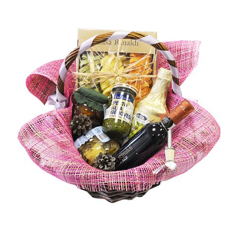Подарочная корзина Casa Rinaldi с набором продуктов GENOVESE средняя