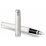 Перьевая ручка Parker IM Core F321 White CT перо F (1931672)
