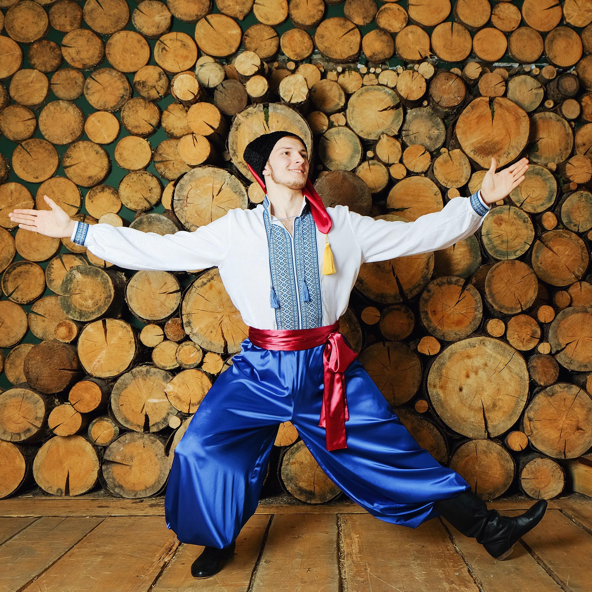 народный украинский костюм для танцев
