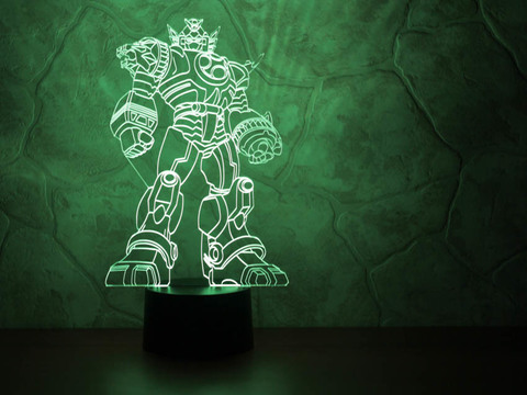 3D лампа Трансформер
