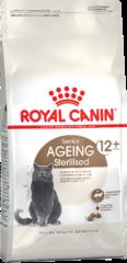 Корм для стерилизованных котов и кошек, Royal Canin Ageing Sterilised 12+, старше 12 лет