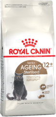 Корм для стерилизованных кошек с 12 лет Royal Canin Ageing Sterilised 12+