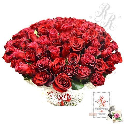 Букет 25 красных роз (Эквадор)