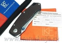 Нож CKF FARKO MKAD Red (M390, G10)