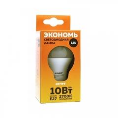 Лампа светодиодная СТАРТ LED E27 10W Теплый