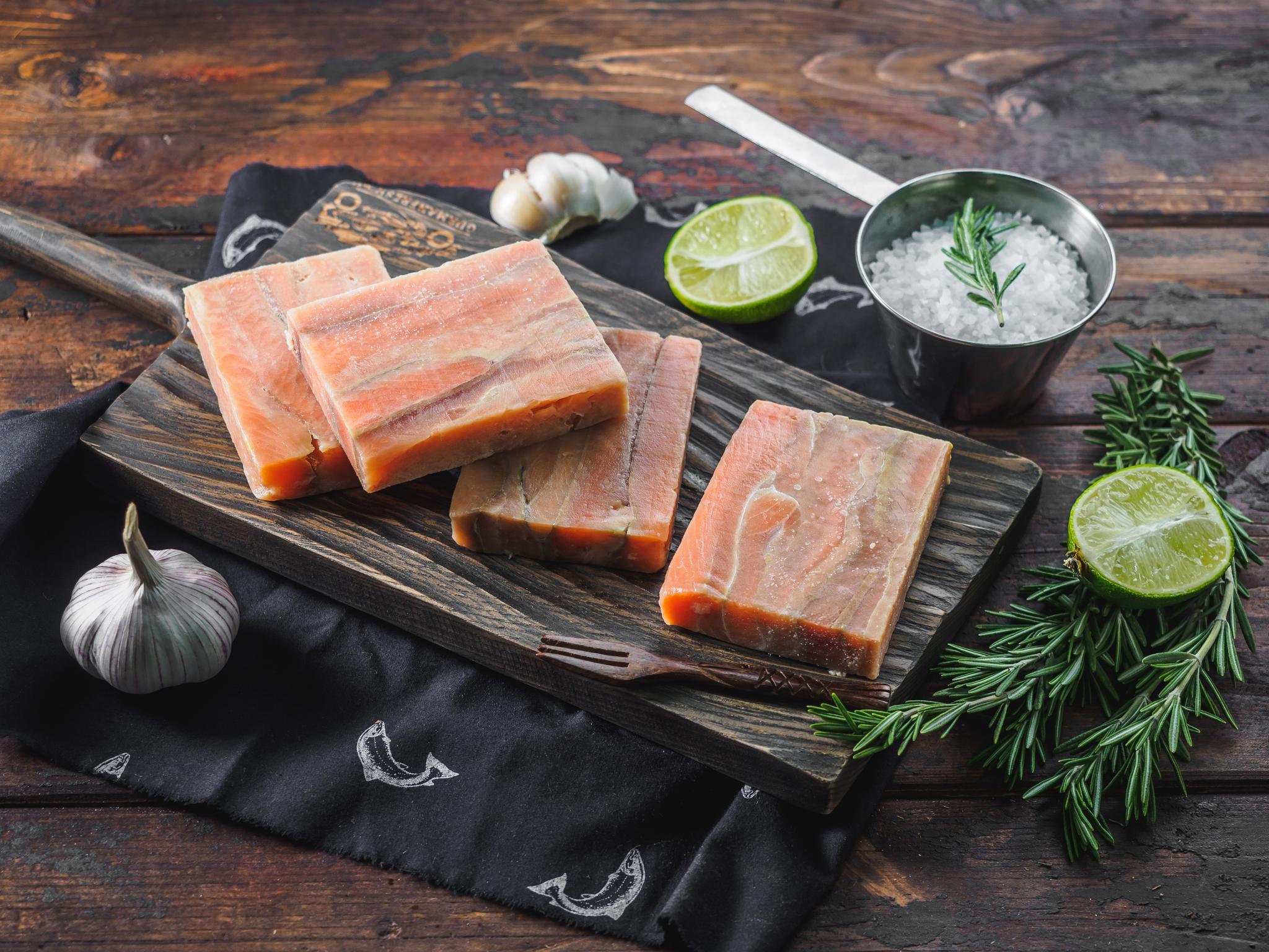 Филе горбуши (порционное) 400 гр
