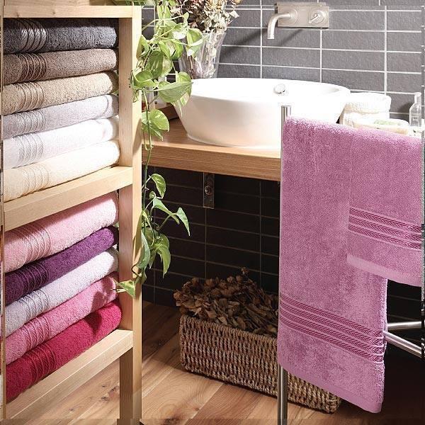 Набор полотенец 2 шт Vingi Ricami Matilde в коробке розовый