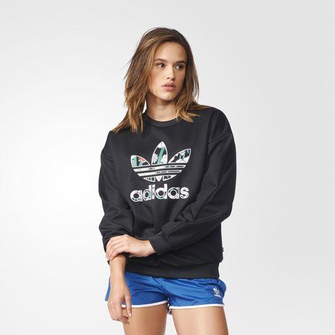Свитшот женский adidas ORIGINALS TRF SWEATSHIRT