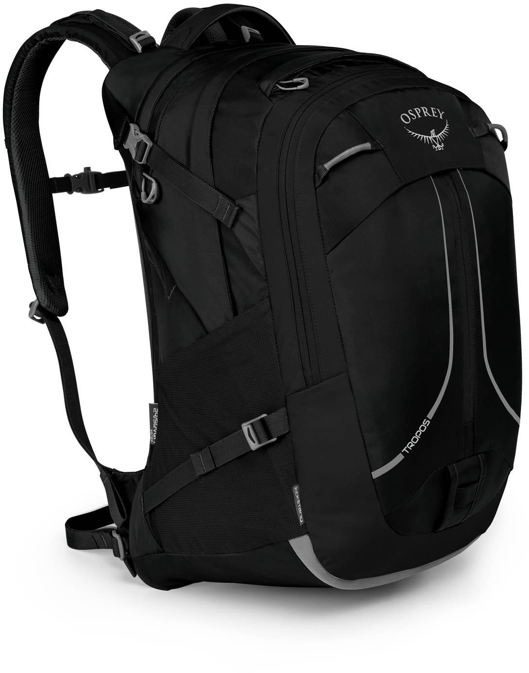 Городские рюкзаки Рюкзак городской Osprey Tropos 32 Black Tropos_32_F18_Side_Black_web.jpg