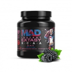 Geneticlab MAD EXTASY BCAA 2:1:1 (500gr/100serv Ежевика)
