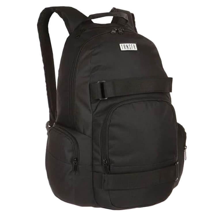 Рюкзак для скейта TRANSFER Spot (Black/Black)