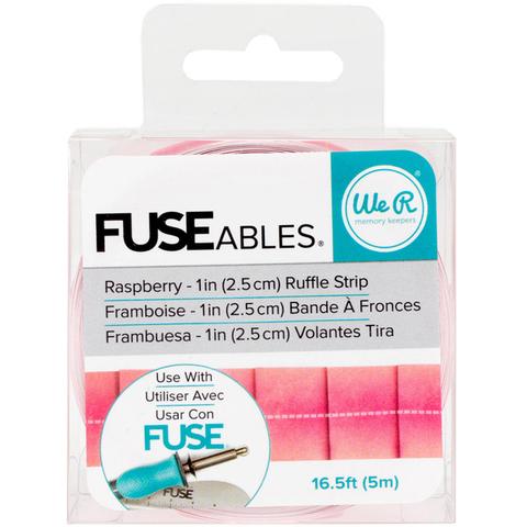 Лента FUSEables Decorative Tape- Ruffle/Raspberry