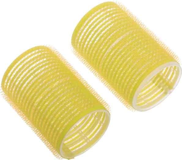 Бигуди-липучки желтые d 32 мм (10 шт) DEWAL BEAUTY DBL32