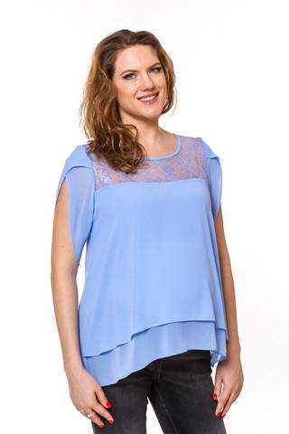 Блузка для беременных 08667 синий
