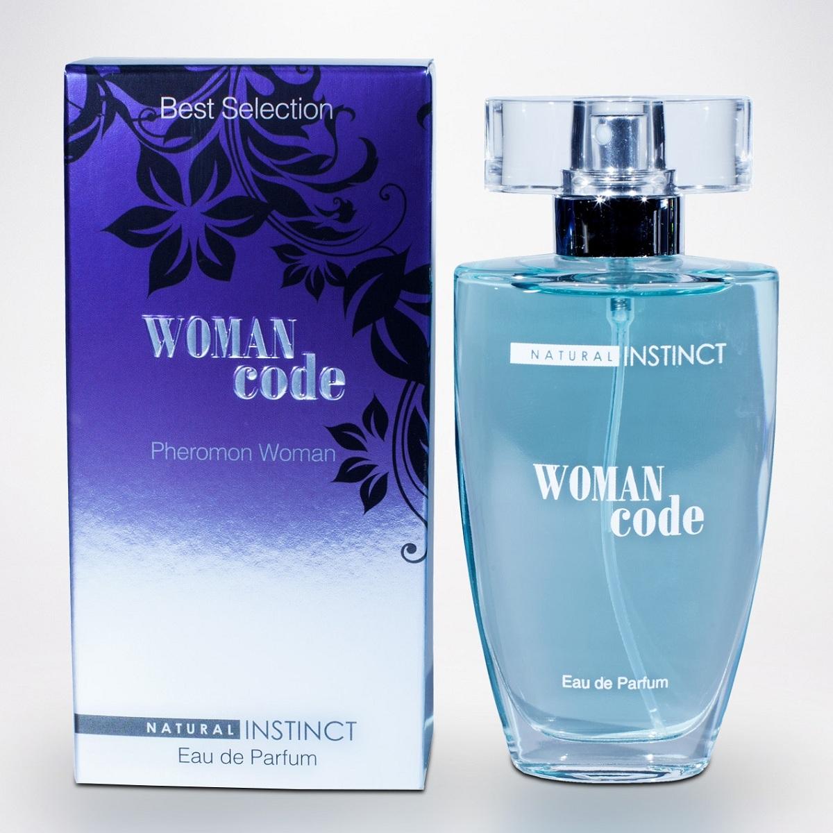 Духи и смазки для женщин: Женские духи с феромонами Natural Instinct Woman Code - 50 мл.