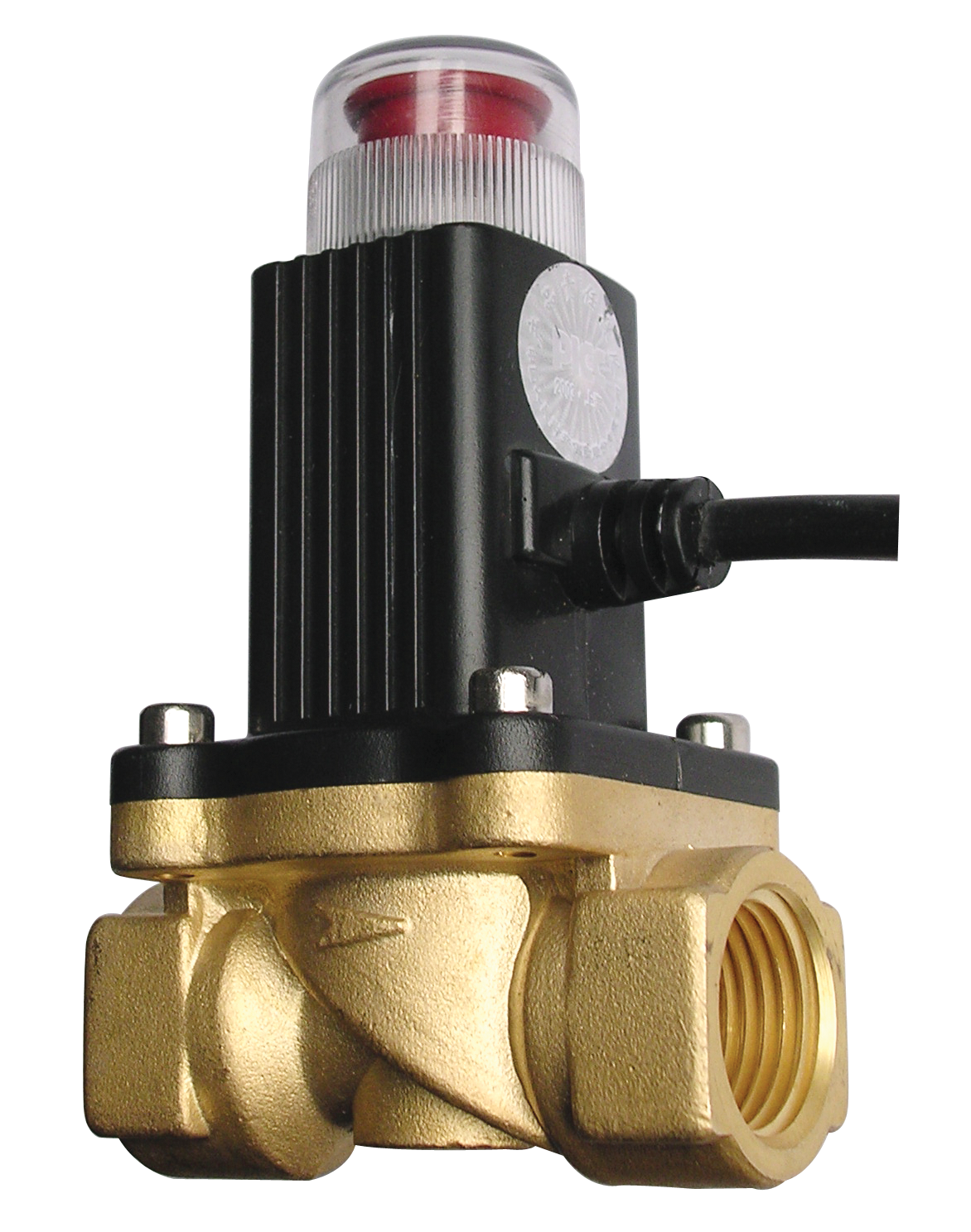 газовый автоматический запорный клапан