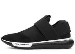 Кроссовки Мужские Y-3 Qasa Racer Low Black Suede Edition