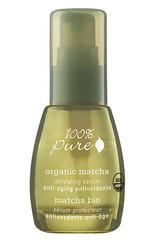 Органическая защитная сыворотка для лица «Зеленый Чай Matcha», 100% Pure