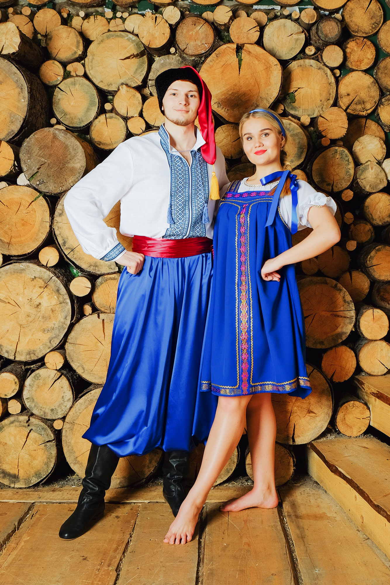 народный украинский костюм плясовой
