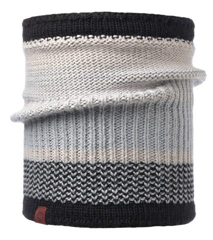 Шарф-труба вязаный с флисом Buff Comfort Borae Grey