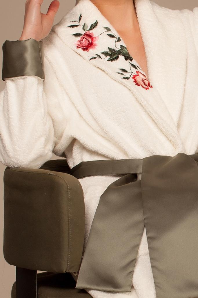 Женский махровый халат класса люкс Luna di Giorno